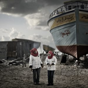 Alexandria shipyard. Mattia Insolera/Luzphoto